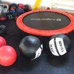 Academia Gorila Skierniewice - sala treningowa - karate kyokushin, boks, mma, kickboxing - trampolina