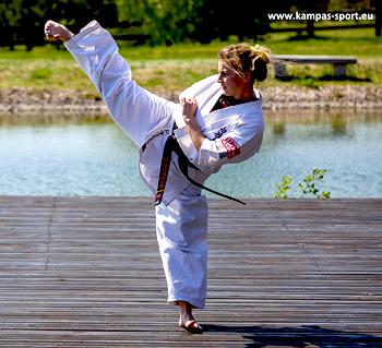 Seminarium karate z Paulą Zuzanną Malikowską