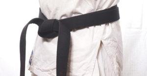 Czarny pas karate kyokushin 1 dan